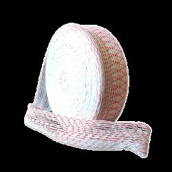 Формовочная сетка бело-красная 125 мм 2 м