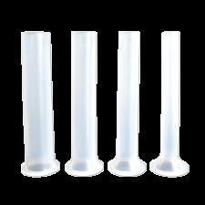 Набор пластиковых насадок на горизонтальные колбасные шприцы 4 и 5,5 кг